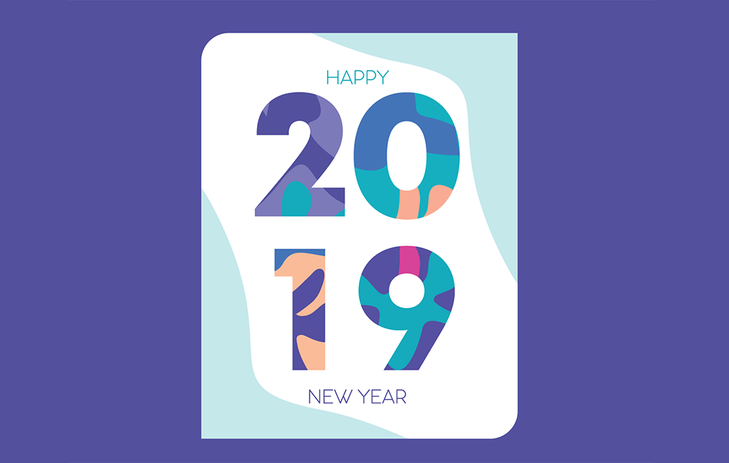 2019 free vector new year