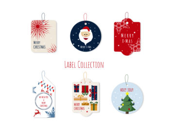 Christmas Vector Labels