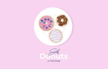 Sweet Donuts Illustration