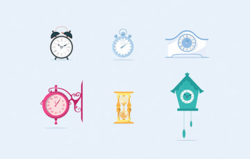 Stylized Clocks