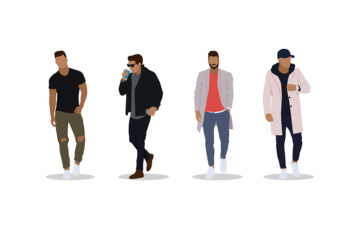 Men's Fashion Illustrations