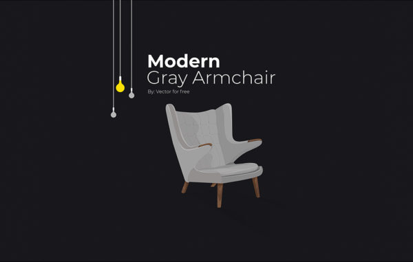 Modern Chair Illustration