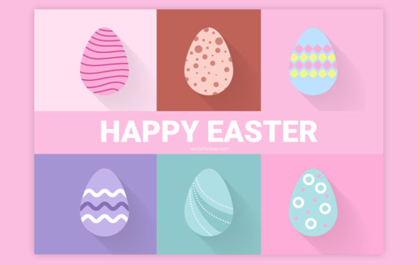Decorated Easter Egg Illustration