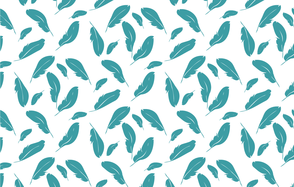 Feather Seamless Pattern - Vector For Free
