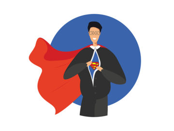 Superman Free Vector Illustration