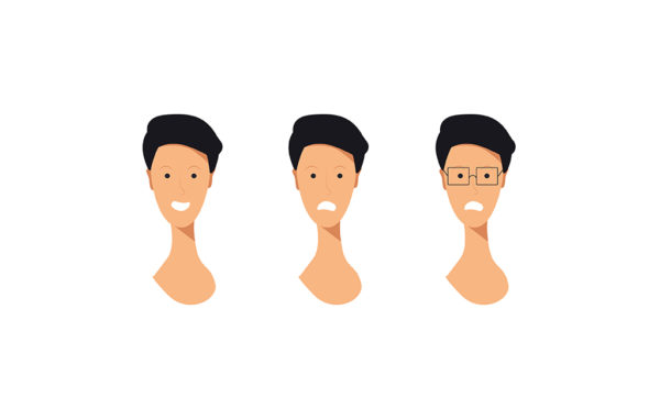 Character Emotion Free Vector