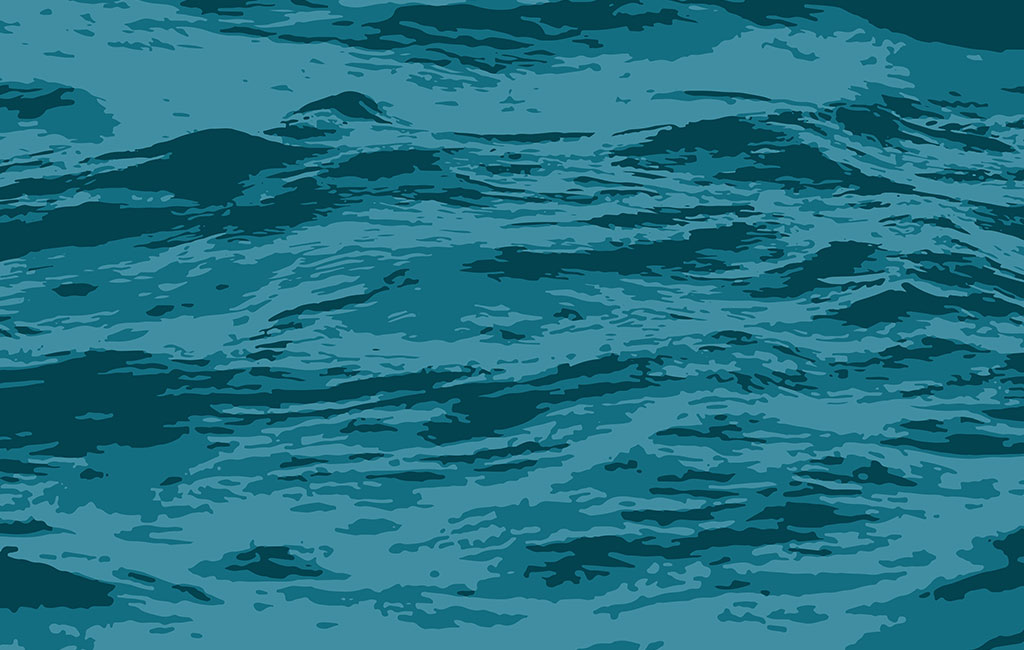 Sea Waves Texture Vector For Free