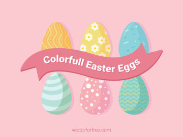Colorfull Easter Eggs