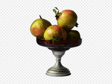 Pomegranate In Vase PNG