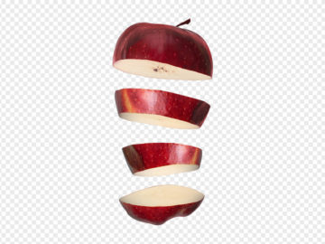 Sliced Apple PNG