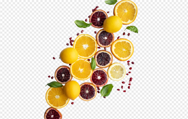lemon orange red PNG