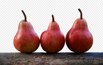 Pears on wood PNG