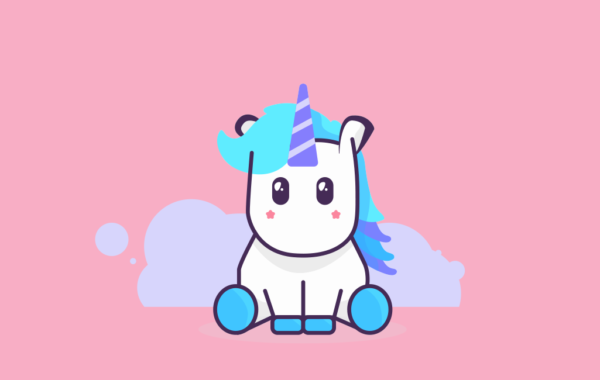 Little Unicorn Vector Free Download