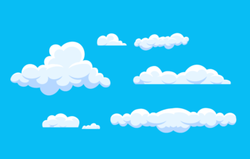 Sky Cloud Vector Free Illustration
