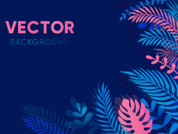 Floral Free Vector Background