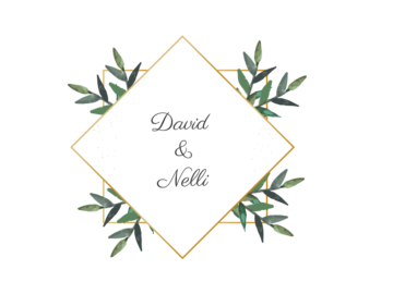 Floral Gold Vector Frame Free download
