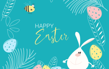 Happy Eater poster Banner Free vector