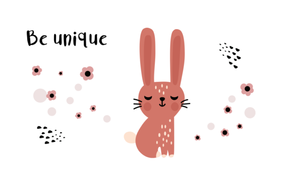 Rabbit Free Cute Illustration