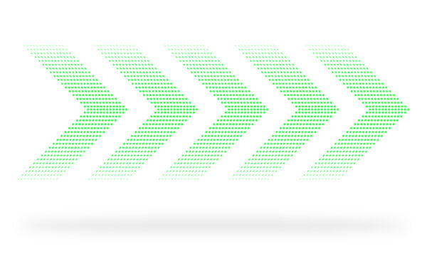 Halftone Vector Arrows free downloads