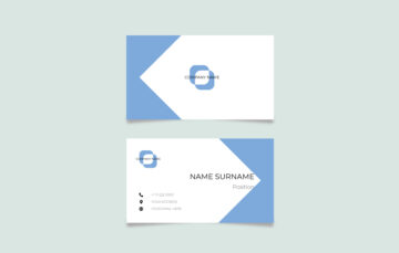 Modern Business Card Vector Free Download