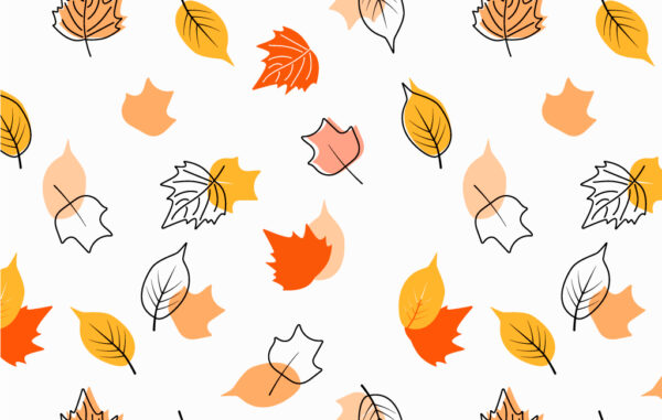 Autumn Leaves Seamless Pattern Vector Free Download