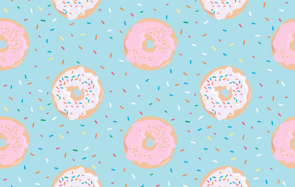 Donuts Seamless Pattern Free Download