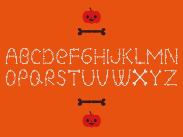 Halloween Font Vector Free Download