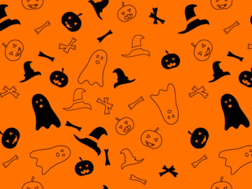 Halloween Seamless Pattern Free Download