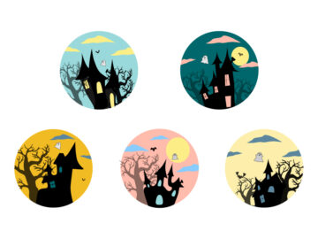Halloween Sticker Set Free Download