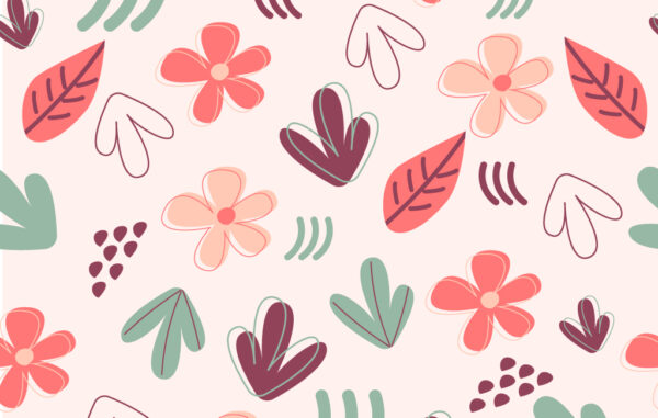 Seamless Floral Pattern Free Download
