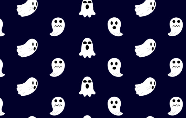 Seamless Pattern Ghosts Free Download