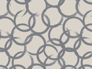 Seamless Pattern With Ellipses Free Download