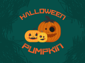 Vector Halloween Pumpkins Free Download