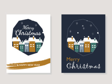 2 Christmas Greeting Cards Free Download