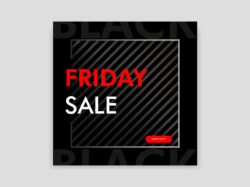 Black Friday Sale Social Media Banner Free Download
