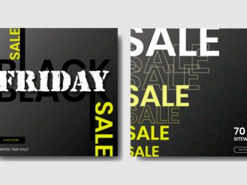 Black Friday Sale Social Media Banners Free Download