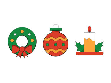 Christmas Icons Set Free Download