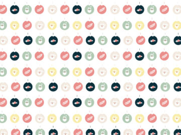 Christmas Toys Seamless Pattern Free Download
