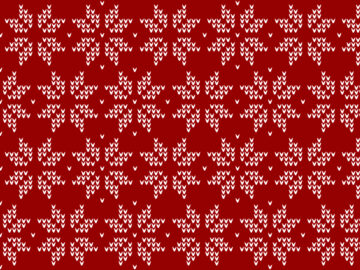 Christmas seamless pattern snowflake Free Download