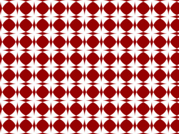 Geometric Red Seamless Pattern Free Download