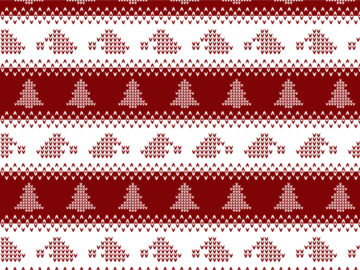 Knitted Christmas Seamless Pattern Free Download