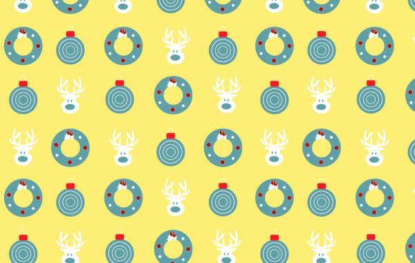 New Year Seamless Pattern Free Download
