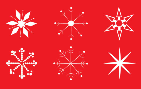 Snowflakes Vector Illustration Free Download
