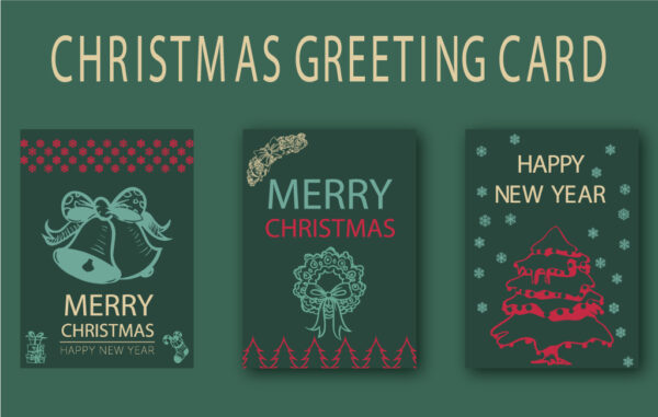 3 Christmas Greeting Cards Free Download