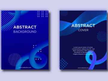 Abstract vector templates Free Download