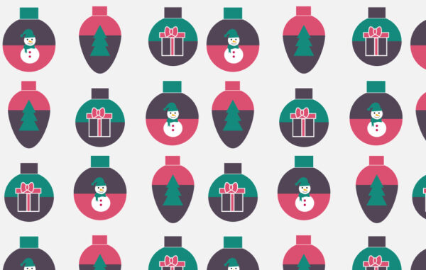 Christmas Toy Seamless Pattern Free Download