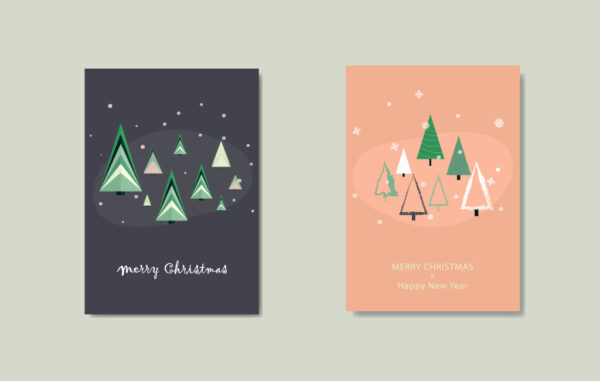 Christmas and New Year Greeting Cards Free Download