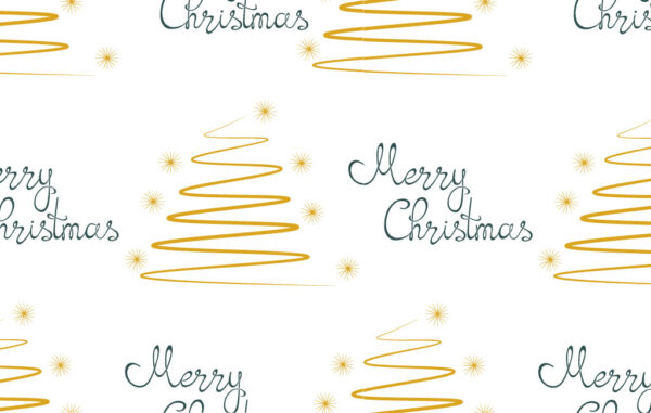 Seamless Pattern Merry Christmas Free Download