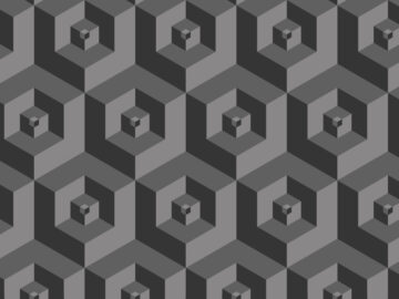3D Geometric Seamless Pattern Free Download