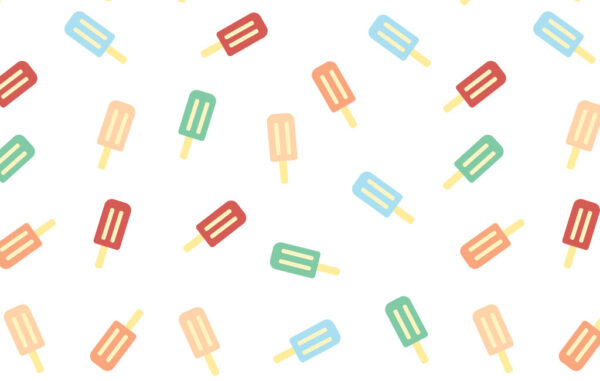 Ice Cream Seamless Pattern Free Download